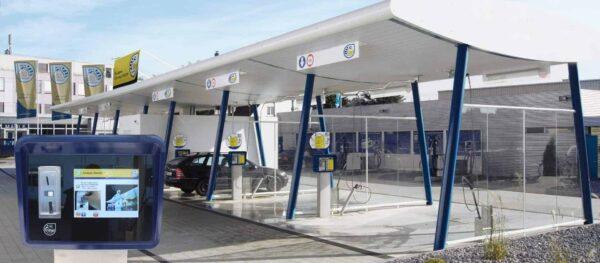 Die Nilfisk SB-Waschanlage ist eine der modernsten und zukunftssichersten Konzepte für professionelle und nachhaltig profitable Reinigung von Fahrzeugen.