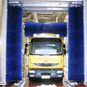 Nutzfahrzeug-Waschanlage